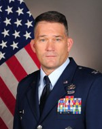 Col. Randall J. Richert, USAF. Click to see official USAF bio. Opens in a new window.