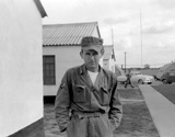 John Sargent. From the John Sargent Collection, 3918th Supply Squadron, circa 1954. Submitted courtesy of John Sargent's son, Neil Sargent.