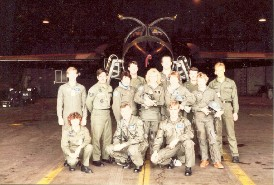 55th TFS Wife's Day. Submitted by Kevin Olley, 20th TFW, 520th AGS, 55 AMU, blue section, 20 TFW, MAT DCC / ABDR training section. 1983 - 1986.