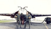 Same guys, same plane.  Submitted by Gregg ''Mr Bill'' Billman, 79th TFS, Wing Flight Safety, Wing Weapons and Tactics and 77th TFS, Mar 1987 - Jun 1991.