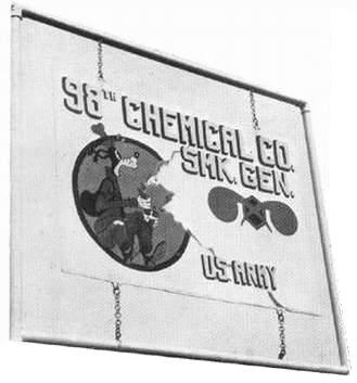 98th Chemical Company at RAF Upper Heyford, England.