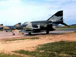 RF-4C of the 66th TRW at RAF Upper Heyford, September, 1969.