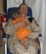 CMSgt. John Gebhardt, Iraq. Submitted by Russ Kendall, 7514th CSG, 66 TRW, 20th AGS, 20th EMS and 20th TFW/MA.