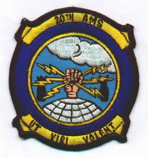 20th AMS Patch, submitted by Ian Warner