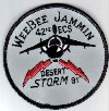 42nd ECS WeeBee Jammin, Desert Storm 1991. Submitted by Duane Park.